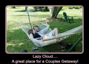 Lazy Cloud Couples Getaway