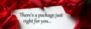 romance package 300x97 Romance is in the air with Lazy Cloud Romance Packages