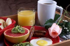 breakfast in bed Add A Bit of Romance to Your Every Day Routine