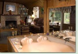 log cabin suite Celebrate Creative Romance Month