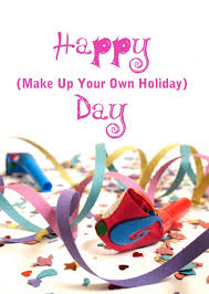 make up your own holiday National Lazy Cloud B&B Day 3/26/2014